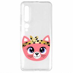 Чехол для Xiaomi Mi10/10 Pro Cat pink