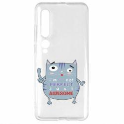Чехол для Xiaomi Mi10/10 Pro Cute cat and text
