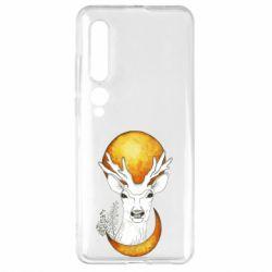 Чехол для Xiaomi Mi10/10 Pro Deer and moon