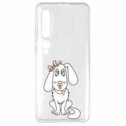 Чехол для Xiaomi Mi10/10 Pro Dog with a bow