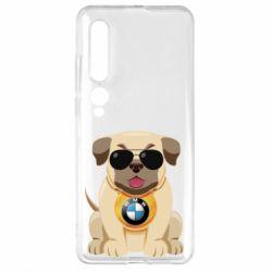 Чехол для Xiaomi Mi10/10 Pro Dog with a collar BMW