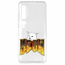Чехол для Xiaomi Mi10/10 Pro Doom меов cat