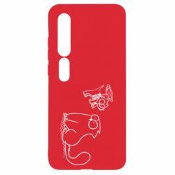 Чехол для Xiaomi Mi10/10 Pro Два кота