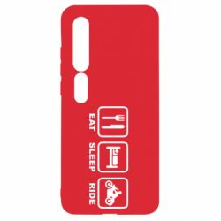 Чехол для Xiaomi Mi10/10 Pro Eat, sleep, ride