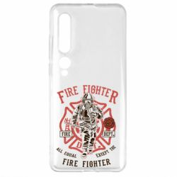 Чехол для Xiaomi Mi10/10 Pro Fire Fighter