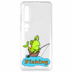 Чехол для Xiaomi Mi10/10 Pro Fish Fishing