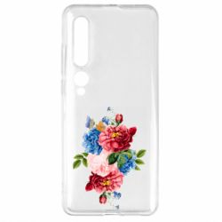 Чехол для Xiaomi Mi10/10 Pro Flowers and butterfly