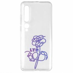Чехол для Xiaomi Mi10/10 Pro Flowers line bts