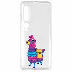 Чехол для Xiaomi Mi10/10 Pro Fortnite colored llama