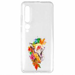 Чехол для Xiaomi Mi10/10 Pro Fox in autumn leaves