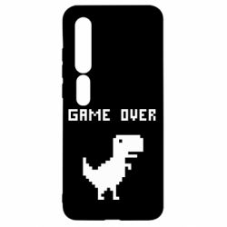 Чехол для Xiaomi Mi10/10 Pro Game over dino from browser