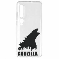 Чехол для Xiaomi Mi10/10 Pro Godzilla and city