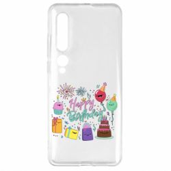 Чехол для Xiaomi Mi10/10 Pro Happy Birthday