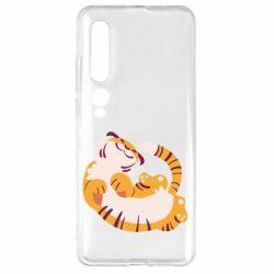 Чехол для Xiaomi Mi10/10 Pro Happy tiger