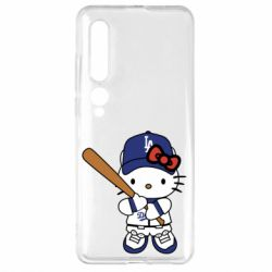 Чехол для Xiaomi Mi10/10 Pro Hello Kitty baseball