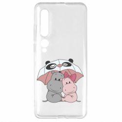 Чехол для Xiaomi Mi10/10 Pro Hippos