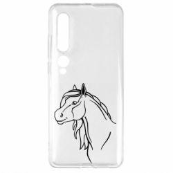 Чехол для Xiaomi Mi10/10 Pro Horse contour