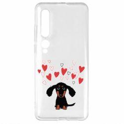 Чехол для Xiaomi Mi10/10 Pro I love dachshund