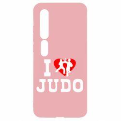 Чехол для Xiaomi Mi10/10 Pro I love Judo