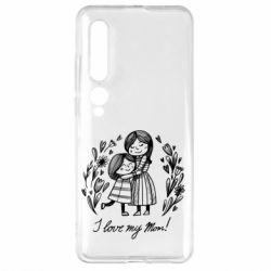 Чехол для Xiaomi Mi10/10 Pro I love my mom