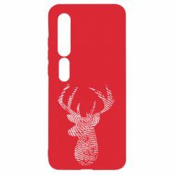Чехол для Xiaomi Mi10/10 Pro Imprint of human skin in the form of a deer