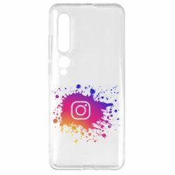 Чехол для Xiaomi Mi10/10 Pro Instagram spray