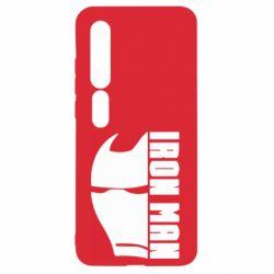 Чехол для Xiaomi Mi10/10 Pro Iron Man face and logo