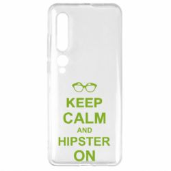 Чехол для Xiaomi Mi10/10 Pro Keep calm an hipster on