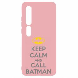 Чехол для Xiaomi Mi10/10 Pro KEEP CALM and CALL BATMAN