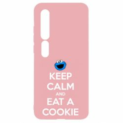 Чехол для Xiaomi Mi10/10 Pro Keep Calm and Eat a cookie