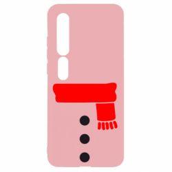 Чехол для Xiaomi Mi10/10 Pro Костюм сніговика