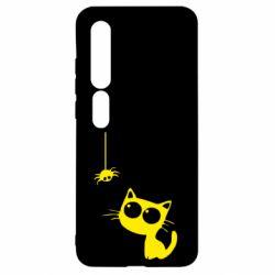 Чехол для Xiaomi Mi10/10 Pro Котик и паук