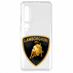 Чехол для Xiaomi Mi10/10 Pro Lamborghini Logo