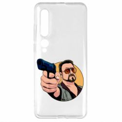 Чехол для Xiaomi Mi10/10 Pro Лебовськи з пістолетом