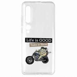 Чехол для Xiaomi Mi10/10 Pro Life is good, take it show