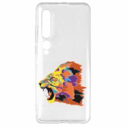 Чехол для Xiaomi Mi10/10 Pro Lion multicolor
