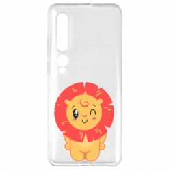 Чехол для Xiaomi Mi10/10 Pro Lion with orange mane