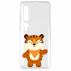 Чехол для Xiaomi Mi10/10 Pro Little tiger with a smile