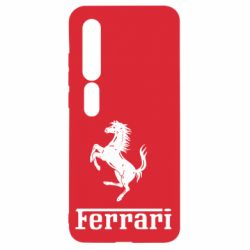 Чехол для Xiaomi Mi10/10 Pro логотип Ferrari