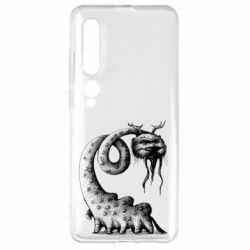 Чехол для Xiaomi Mi10/10 Pro Long-necked Mustachioed Monster