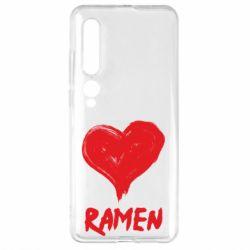 Чехол для Xiaomi Mi10/10 Pro Love ramen