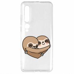 Чехол для Xiaomi Mi10/10 Pro Love sloths