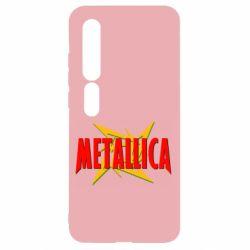 Чехол для Xiaomi Mi10/10 Pro Metallica Logo