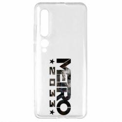 Чехол для Xiaomi Mi10/10 Pro Metro 2033 text