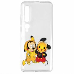 Чехол для Xiaomi Mi10/10 Pro Mickey and Pikachu