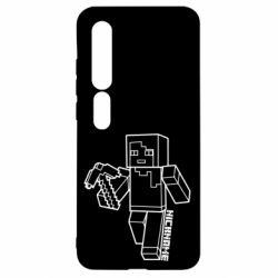 Чехол для Xiaomi Mi10/10 Pro Minecraft and hero nickname