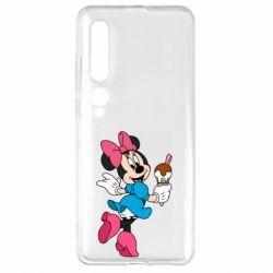 Чехол для Xiaomi Mi10/10 Pro Minnie Mouse and Ice Cream
