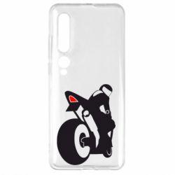 Чехол для Xiaomi Mi10/10 Pro Мотоцикліст на спорті