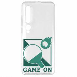 Чехол для Xiaomi Mi10/10 Pro Настольный Теннис игра