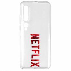 Чехол для Xiaomi Mi10/10 Pro Netflix logo text